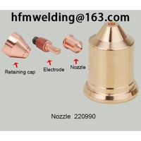 100-105A Nozzle 220990 compatible parts for HYPERTHERM power max105,plasma cuting welding