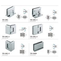 glass clamp hinge for shower room