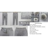 Sell Stocklot Embroidered Lady's Denim Jeans thumbnail image
