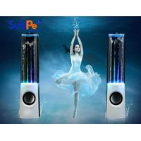 Rectangle water fountain speaker with bluetooth version