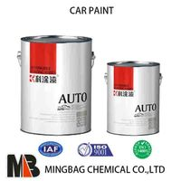 China Single Stage 1K Solide Color Base Coat Car Paint