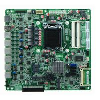 Cheap Intel Gen3 B75 Based Firewall Motherboard for Network Security Application 6 Nic 2 SFP Option