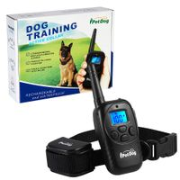 300M electronic remote dog shock training collar for 2 dogs