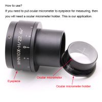 Microscope Eyepiece Micrometer Fixing Bracket 24 20.4mm Ocular Reticle Holder for Olympus Microscope thumbnail image