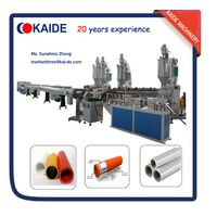 Multilayer PERT-AL-PERT pipe extrusion line/production line KAIDE Overlap welding thumbnail image