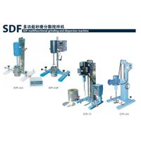 SDF Multifunctional lab grinding and dispersion machine