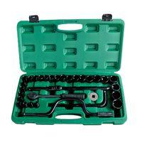 32pcs Mechanic's Tool Set 1/2 Drive Metric Hand Tools Socket Kits thumbnail image