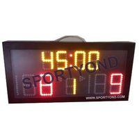 China Portable Netball LED electronic digital scoreboard for sale