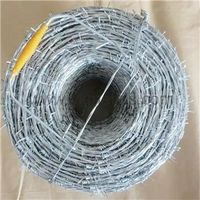 Hot Dipped Galvanized Barbed Wire concertina wire manufacturer  thumbnail image