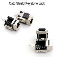 Keystone Jack Module Cat5e Cat 6 Standard Shielded Keystone Connector