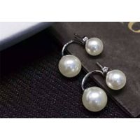 NEFFLY 2016 NEW ARRIVAL 925 SILVER fashion Shell pearl ear stud free shipping