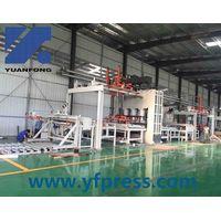 short cycle hot press line/ melamine laminated hot press thumbnail image