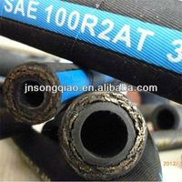Impact Resistant Rubber Hydraulic Hose