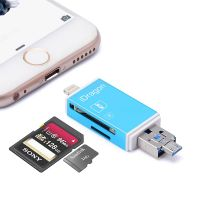 3 in 1 card reader for iphone for android phone