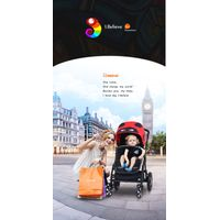 Baby carrier pushchair/good choice baby prams 3 in 1 thumbnail image
