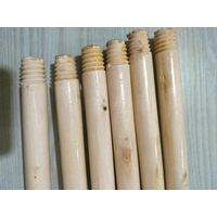 Varnished Bleached Wooden Broom Handles