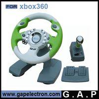 YX3-W08 steering wheel for xbox360