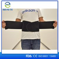 New Fashionable Product Adjustable And High Quality Lower Back Support Belt For Back Pain Unisex