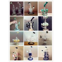 50X7 Popular Copper Plating Beaker Glass Smoking Water Pipe