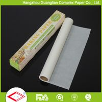 Silicone parchment baking paper