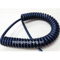 LSZH compliant Curly Control Cable thumbnail image