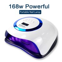 Factory Supplier UV Lamp For Manicure 168W Big Power LED Nail Dryer Lamp for Curing All Gel Polish D thumbnail image