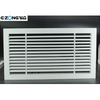 Aluminum linear bar grille with 0°/15°/30° angle blades