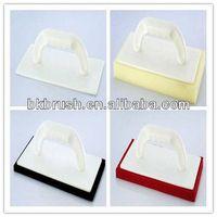 plastic plastering trowel plastering plastic trowel scraper with plastic handle and sponge