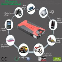 Automotive Jump Starter 10000mAh Car Backup Battery Multifunction Power Bank IPhone5S IPhone6 Charge
