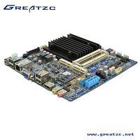 ZC-BT19 Fanless Industrial Mini ITX Motherboard 2 DDR3L Motherboard With LVDS& DC12V-19V IN thumbnail image
