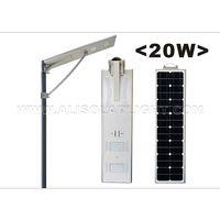 20W High Configuration LED Solar Street Light thumbnail image