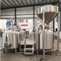 4 vessel 5000L brewery equipment thumbnail image