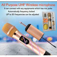 All-purpose UHF wireless microphone