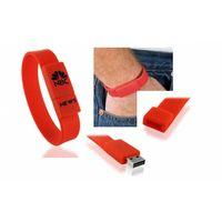 Silicon Rubber Wristband USB Flash Drive thumbnail image