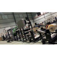 Factory supply inline ironing machine with garment bag making machine