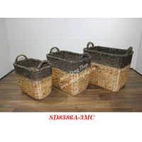 Basket for home decor and furniture - SD8386A-3MC