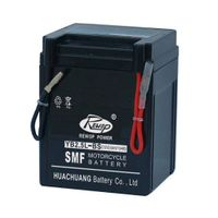 SMF Motorcycle battery, YB2.5L-BS, rechargeable, maintance free, seled lead acid battery, scooter ba thumbnail image
