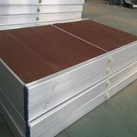Evaporative air cooling pads