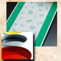 Rotogravure printing water based ink for permeable film