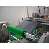 Plastics lawn mat production line