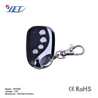 intelligent cloning code remote control for sliding gate motor
