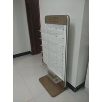 like Iphone-5 golden color nail polish display rack unit