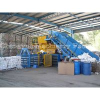 China Hydraulic Press Baling Machine for Cardboard and waste paper thumbnail image