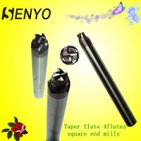 4 Flutes Taper end mill