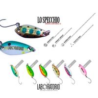 laboratorio trout fishing bait, fishing spoon, little fish bait for SW and FW