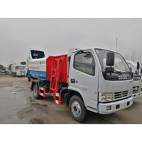 Dongfeng 3 ton to 22ton Side Load Garbage Truck With Lift System For Transport Food Waste thumbnail image