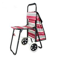 Trolley shopper (with seat)