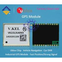VK1513U6M3 GPS Module with Strong Signal Built-in Ublox Chip for Vehicle Positioning/Location FACTOR