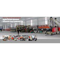2 meter aluminum composite panel production line