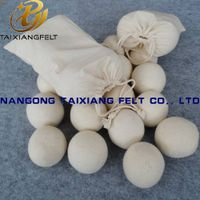 6-Pack 100% New Zealand Wool Dryer Balls